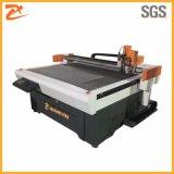Cuero CNC/PU/tejido de revestimiento de zapatos que hace la máquina