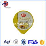 Tratamiento revestido y tapa del papel de aluminio de la utilización alimenticia