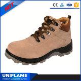 Calçados de aço da segurança do tampão do dedo do pé do tipo, sapatas de trabalho Ufa099 dos homens