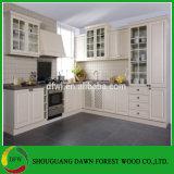 Gabinete de cozinha da porta de gabinete do vácuo do PVC de Europa