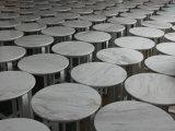 厚遇のコーヒーテーブルか自然な大理石の側面表の円形のコーヒーテーブル