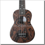마호가니 Neck Rosewood Fingerboard 및 Bridge Ukulele (AU-K30)
