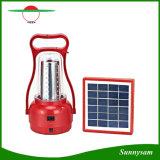 조정가능한 광도 옥외 태양 손 램프/Portable 35 LEDs 야영 손전등 재충전용 비상사태 태양 빛