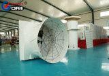 ガラス繊維の家禽の家の壁に取り付けられた軸換気の円錐形のファン