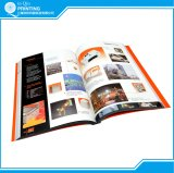 Libro del catalogo di colore completo del documento di arte di stampa
