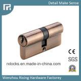 cilinder de Van uitstekende kwaliteit van het Slot van het Messing van 70mm van het Slot Rxc08 van de Deur