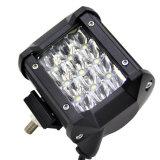 36W étanche IP67 spot LED Triple rangée de barre de feux de travail des feux de conduite hors route Camion de barre d'éclairage à LED