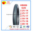 Qingdao-Motorrad-Gummireifen-Fabrik 2.75-17 3.00-17 3.00-18