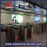 Porta de tarifa no Metro automático