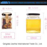 Handgemachte Stau-und Essiggurke-Glasware-Nahrungsmittelspeicher-Flaschen