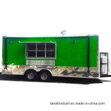 Street Mobile remorque Fast Food pour la crème glacée Hambeger collations