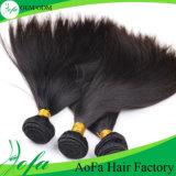 ベストセラーおよび大きい品質のまっすぐな人間のバージンのブラジル人の毛