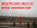 Toren van de Transmissie van Sc 5b2-DJ van Megatro 500kv de Eind