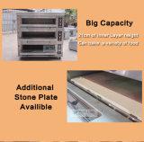 Verwendeter Gas-Ofen-/gute Qualitätspizza-Gas-Ofen-/Bäckerei-Geräten-Plattform-Gas-Backen-Handelsofen