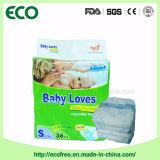 Un constructeur remplaçable mou de la Chine de couche-culotte de bébé de Pullup de qualité superbe de pente