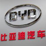 Moda Custom Car cromo emblema de la insignia con el logo de coches