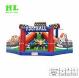 膨脹可能なフットボールのジャンプのコンボの楽しみ都市