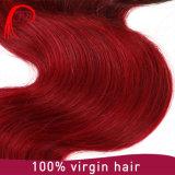 ベストセラー7A Omberのバージンの毛ボディ波の人間の毛髪