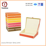 Embalagens de papel Cartão personalizado Caixa de Oferta para joalharia, vestuário e acessórios