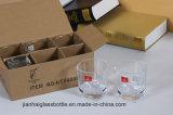 Koppen van de Thee/van het Water van het Glas van het Glas van de fabrikant de Verkopende Materiële Duidelijke