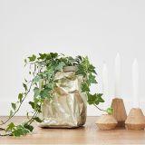 Bolso de la aduana de la decoración del hogar del bolso del almacenaje del saco del papel de bolsa de papel de Kraft