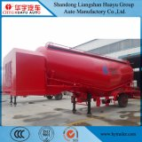 Huayu 40cbm Puder-materieller Transport-Masse Cementtank halb Schlussteil