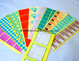 Impressão e embalagem de todos os tipos de etiquetas de cores