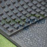 Caballo Wear-Resistant Vaca alfombra estable de goma