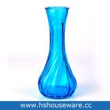 De kleine Uitstekende Geribbelde Vaas van de Knop van de Bloem van de Fles van het Glas