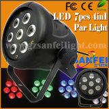 Wholsale 7ПК*10W 5/6в 1 LED Wash мини-PAR лампа