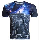 Pas T-shirt van de Druk van de Manier 3D voor Mensen aan