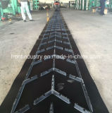 Chevron Rubber Conveyer Belt Used on Metually Industry