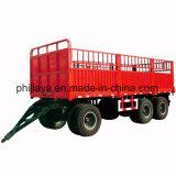4 de Aanhangwagen van de Trekstang van de Zijgevel van wielen