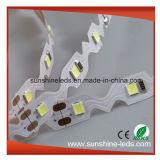 SMD2835 300LEDs CRI80 DC12V aquecem a tira Bendable branca pura branca
