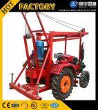 소형 트레일러에 의하여 거치되는 농장 트랙터 잘 드릴링 기계 Portable