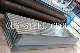 직류 전기를 통한 탄소 강철 플레이트 공급자 /Zinc 입히는 물결 모양 루핑 장