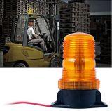 30 Voyant orange/jaune clignotant 15W Avertissement d'urgence de la sécurité Gyrophare stroboscopique pour chariot élévateur à fourche tracteur les voiturettes de golf UTV Bus voiture