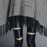 As mulheres Fashion Espinha de Inverno de malha de nylon de algodão (YKY Xale4526)