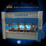Machine chaude de travail du bois de presse pour le placage