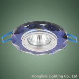 Bunte Dekorationblaue Glasoctagon-Form GU10 vertiefte Downlight Befestigung