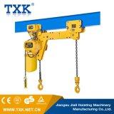 Alzamiento de cadena eléctrico de 3 toneladas con el gancho de leva doble