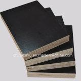 La madera contrachapada Shuttering impermeable/la película negra hizo frente a la madera contrachapada para la construcción