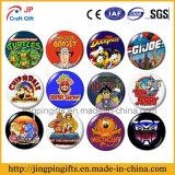 2016 insignia de encargo promocional del botón del metal de la historieta de la alta calidad