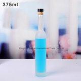 Bottiglia di vino di vetro glassata ecologica dell'alcool vuoto
