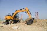 Escavadeira de rodas hidráulicas completo Escavadeira de rodas 13T