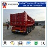 Qualität 80t zum hinteren Lastkraftwagen- mit Kippvorrichtungschlußteil des Kipper-100t
