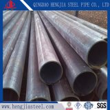 Hot Rolling carbon LSAW Welded Black Round Steel beeps