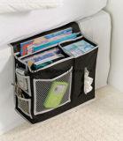 Organizzatore d'attaccatura degli scomparti del sacchetto di memoria del lato del letto del sofà della base della famiglia