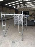 Rahmen-Gestell-System für Aufbau