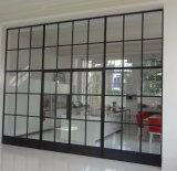 Frame van het staal bevestigde Thermische Deuren, Enig of Dubbel Verglaasd Aangemaakt Glas,